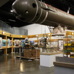 diving and salvage exhibit at the naval undersea museum
