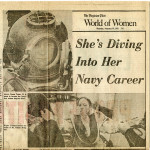 """""""She's Diving Into Her Navy Career"""" (1975)"""