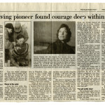 """""""Navy Diving Pioneer Found Courage Deep Within Herself"""""""