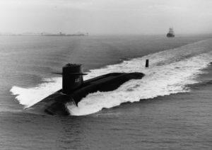 Ballistic missile submarine USS Ethan Allen