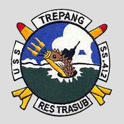 USS Trepang (SS 412) Battle Flag | U  S  Naval Undersea Museum